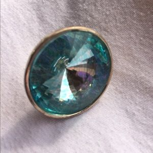 Jewelry - 🔥3 For $12.00🔥 Ring - Costume Jewelry large teal